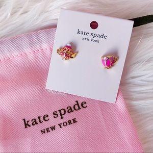 Kate spade Teacup Stud Earrings in Pink